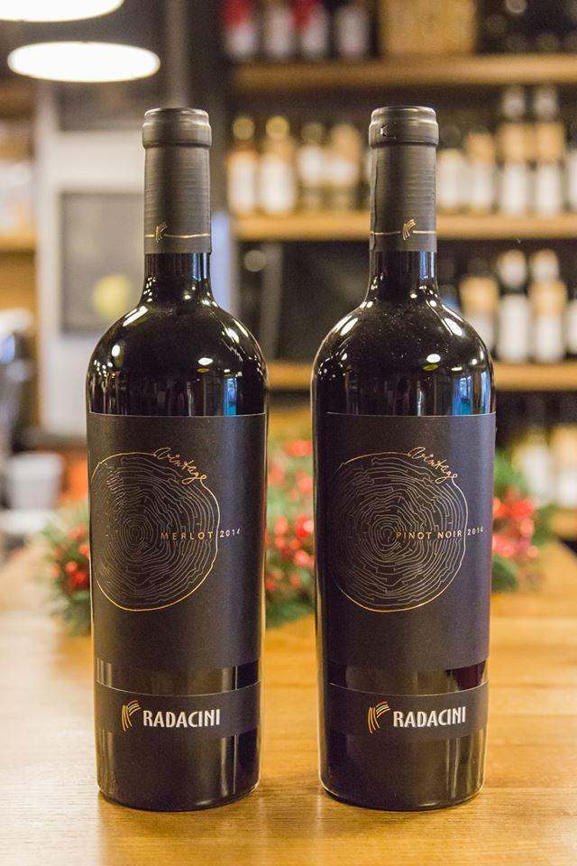 Radacini Vintage wines
