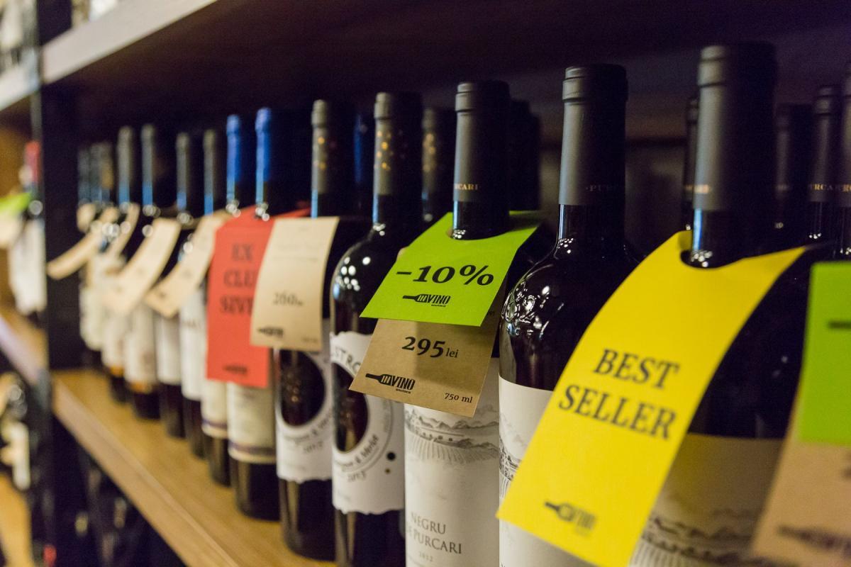 reduceri de primăvară la vinuri preferate