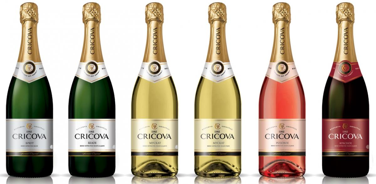 шампанское Cricova