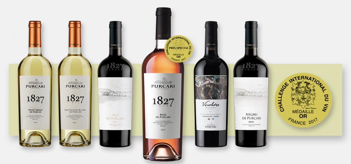 vinurile Purcari
