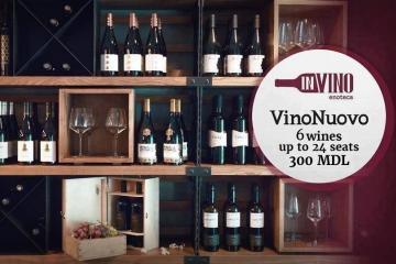 prezentarea a colecției de vinuri noi de la Vinăria Nobilă