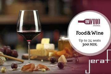 o cină enogastronomică cu degustare de vinuri