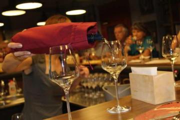 degustarea oarbă a vinului Sauvignon Blanc